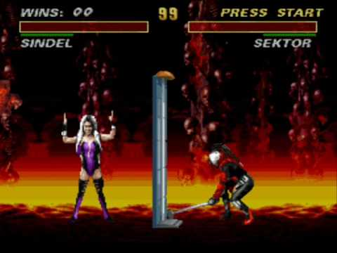 Ultimate Mortal Kombat 3 All Fatalities, Frienship and Babalities (1996 -  Snes)