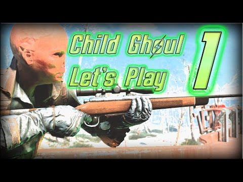"""☢Modded☢ Fallout 4 Survival Ep. 1 """"Gary the Ghoul Kid"""""""