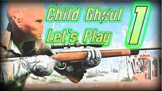 Modded Fallout 4 Survival Ep. 1 Gary the Ghoul Kid