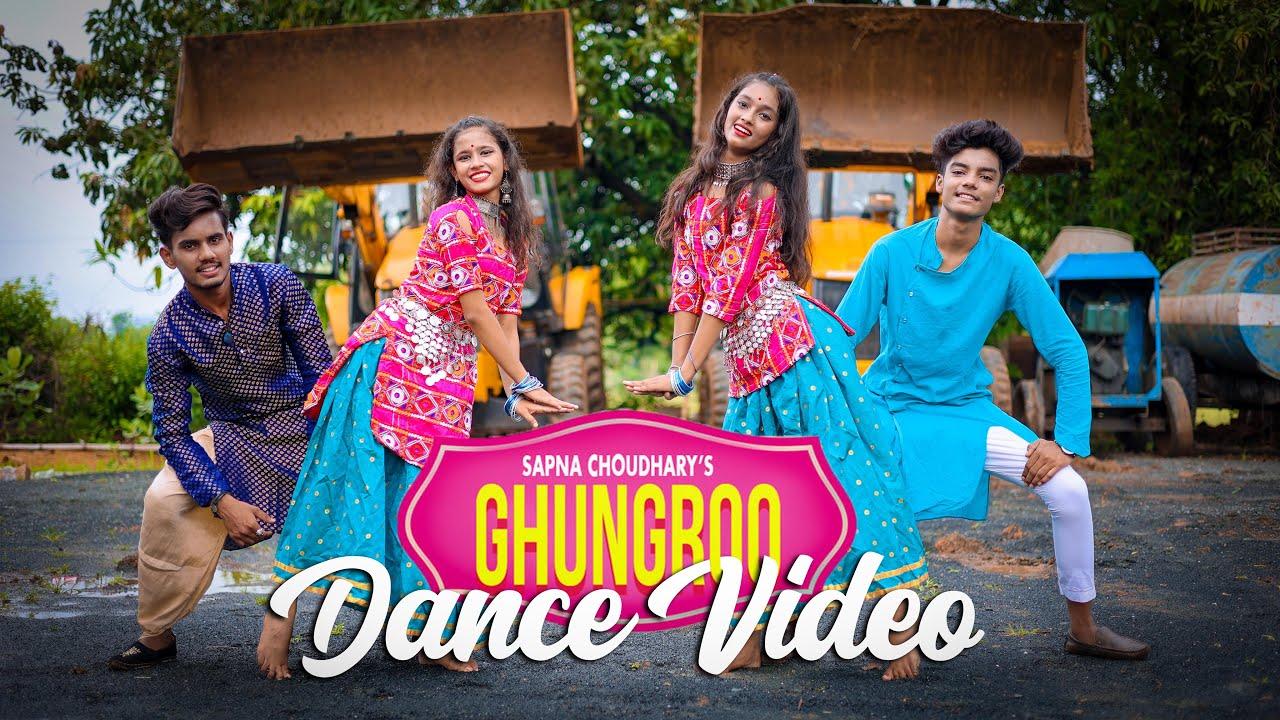 SAPNA CHOUDHARY : GHUNGHROO (Dance Video) SD KING CHOREOGRAPHY | New Haryanvi Songs Haryanavi 2021