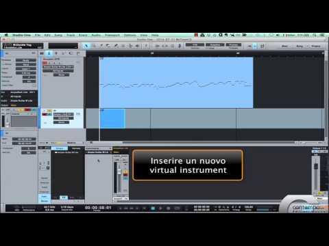 Utilizzo di un Virtual Instrument - StudioOne