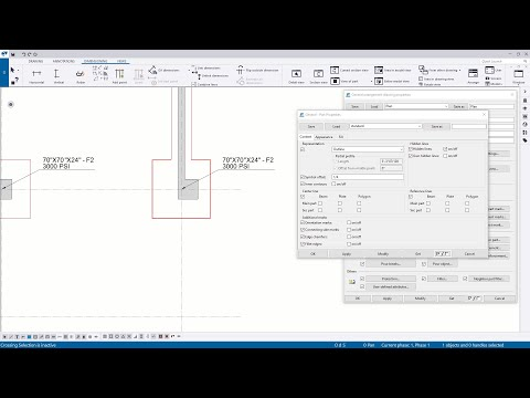 General Arrangement Drawings – Object Type and Other Settings