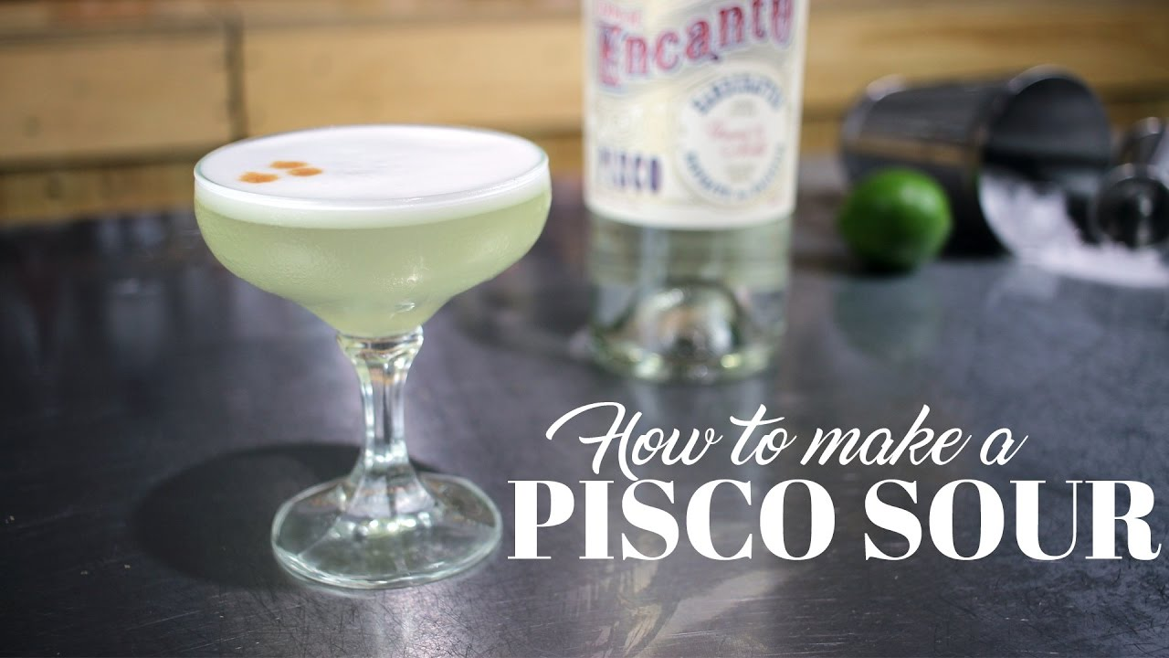 How To Make A Pisco Sour Cocktail Kit