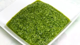 Basil Parsley Pesto Recipe - In The Kitchen With Jonny Episode 50