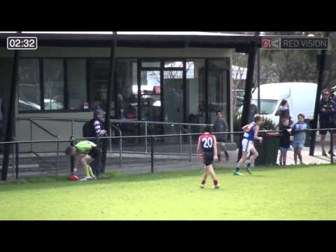 SMJFL 2014 Under 12 South - Bentleigh Red v Beaumaris Great Whites