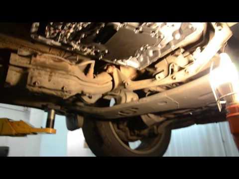 Фото к видео: Infiniti FX50 - замена масла в автоматической коробке передач