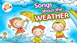 Songs About Weather | 15+ Mins of Kids Songs About the Weather