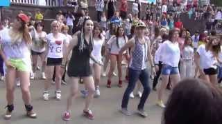 K-Pop World Festival flashmob