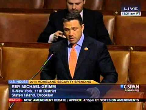 Rep. Grimm Floor Speech in Support of Urban Search & Rescue Funding