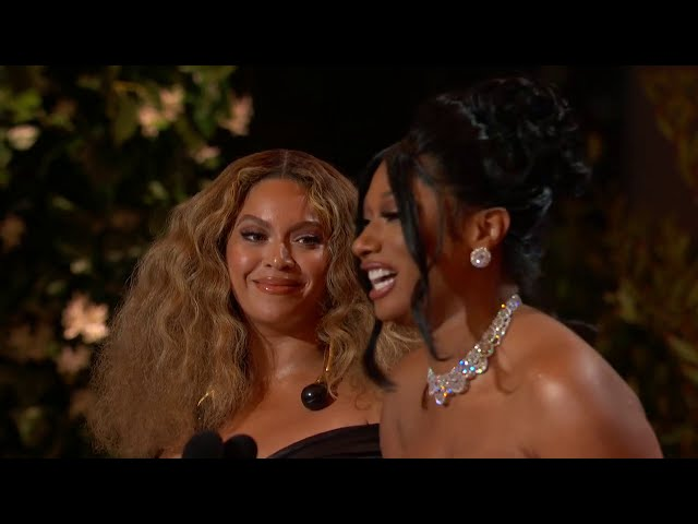 Megan Thee Stallion & Beyoncé Win Best Rap Song | 2021 GRAMMY Awards Show Acceptance Speech