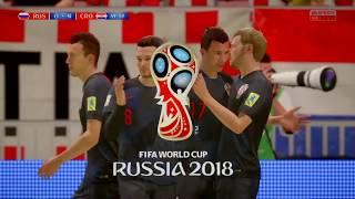 Russia vs Croatia 7 jul 2018 Last 8 FIFA World Cup Live Highlights Goals Resumen Simulation