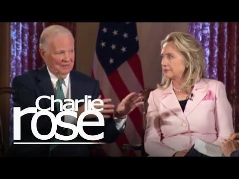 James Baker & Hillary Clinton (06/20/12) | Charlie Rose