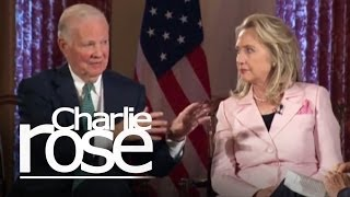 James Baker & Hillary Clinton (06/20/12) | Charlie Rose