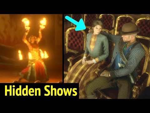 Hidden Theater Shows in Red Dead Redemption 2 (RDR2): Arthur and Mary Have Date in Theatre Râleur thumbnail