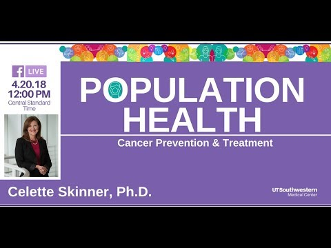 Ask the Expert: The Science Behind Cancer Prevention and Control