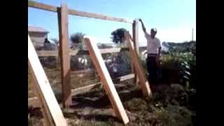 How To Build A 6 Ft. Privacy Fence.!!