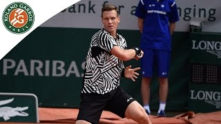 Tomas Berdych v David Ferrer Highlights - Men's Round 4 2016 - Roland Garros