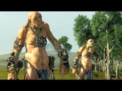 Giant Versus Lord Of The Dead - Massive Battle Total War Warhammer - Ruslar.Biz