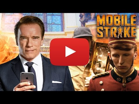 Official Mobile Strike Super Bowl 50 TV Commercial | Arnold's Fight [EXTENDED Edition]