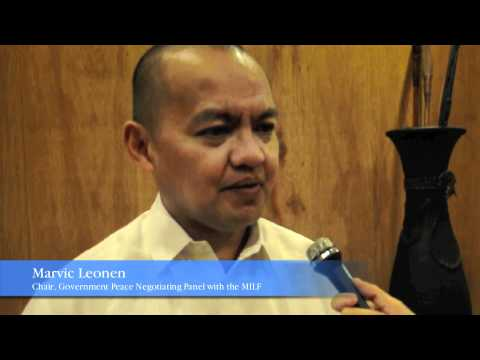 Peace in Mindanao: A Forum on Peace Process with the MILF