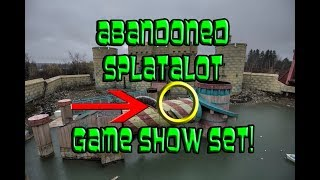 (ABANDONED GAME SHOW) Splatalot Game Show Set Explore - PHOTO MONTAGE