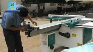 Sosn Manual Sliding Table  Panel Saw Video Part Two.mpg