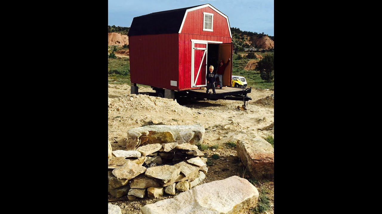 How to build an off grid tiny house mini cabin cottage for How to build a cottage