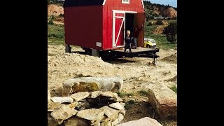 How to build an Off-Grid, Tiny House, Mini cabin cottage fast and cheap, using a garden shed!