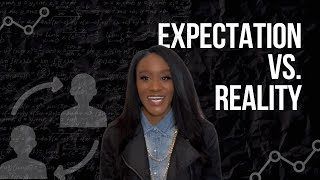 EXPECTATION VS. REALITY | Hiding your flaws can amplify chaos.