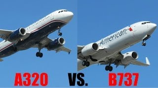 Boeing 737 vs. Airbus A320 -- Which one do you like better?