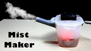 How to make Ultrasonic Mist Maker fogger - Very Simple way