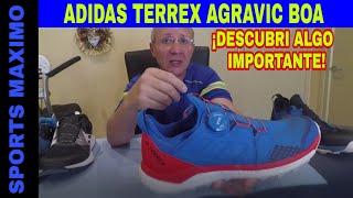 TRAIL RUNNING.ADIDAS TERREX AGRAVIC BOA.¡DESCUBRI ALGO IMPORTANTE!