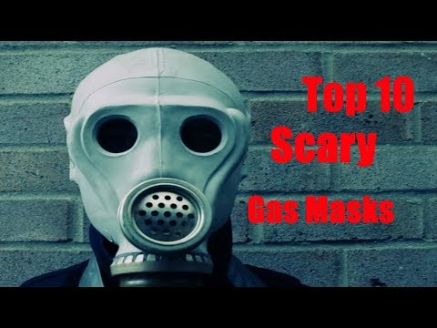 Top 10 Scariest Gas Masks