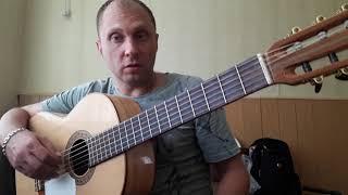 Классика на гитаре.Моцарт.Турецкий марш.Урок 1