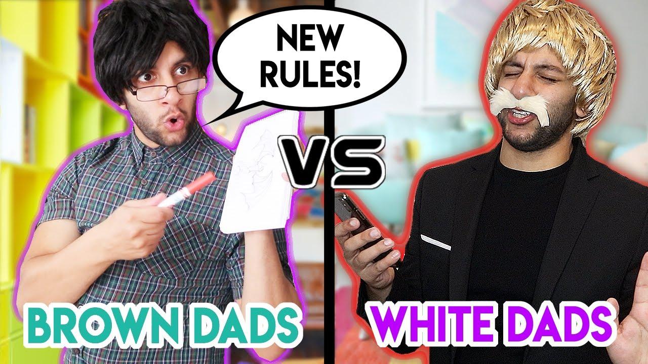 White Parents VS Brown Parents during LOCKDOWN