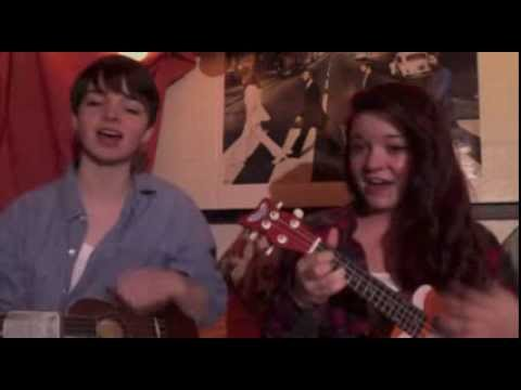 Somewhere Over the Rainbow (Ukulele Cover) by Hannah Friesen & Kaitlyn Louk
