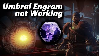 Destiny 2 Umbral Engram How to Open