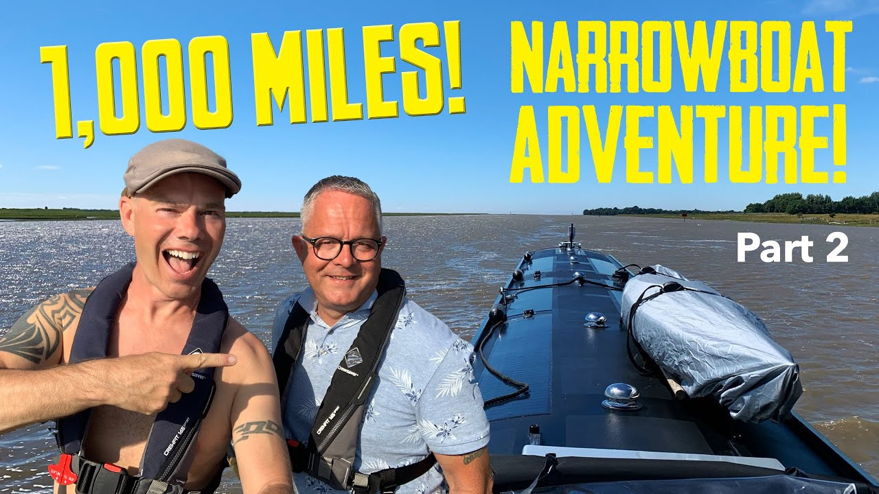 Our 1,000 Mile Narrowboat Adventure of a lifetime! (Part 2).