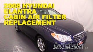 2006-2010 Hyundai Elantra Cabin Air Filter Replacement -Ericthecarguy