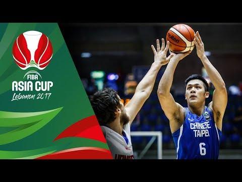 Hong Kong v Chinese Taipei - Highlights - FIBA Asia Cup 2017