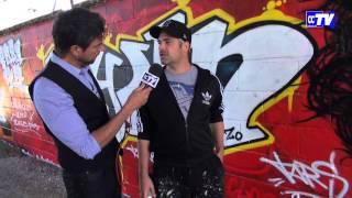 """Gros plan sur l'art du graffiti avec """"DECO ZO"""", au service de la ville et de ses citoyens ..."""
