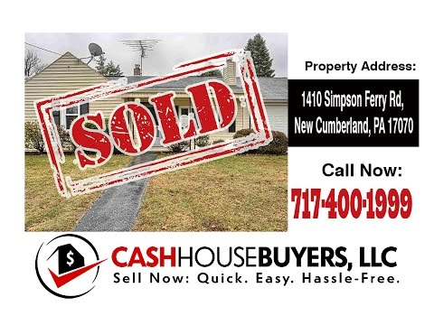TESTIMONIAL We Buy Houses New Cumberland PA   CALL 717 400 1999   Sell Your House New Cumberland