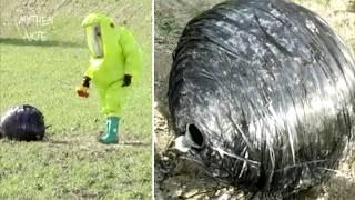 Mysteriöse Alien-Kugel stürzt in spanisches Dorf   MythenAkte