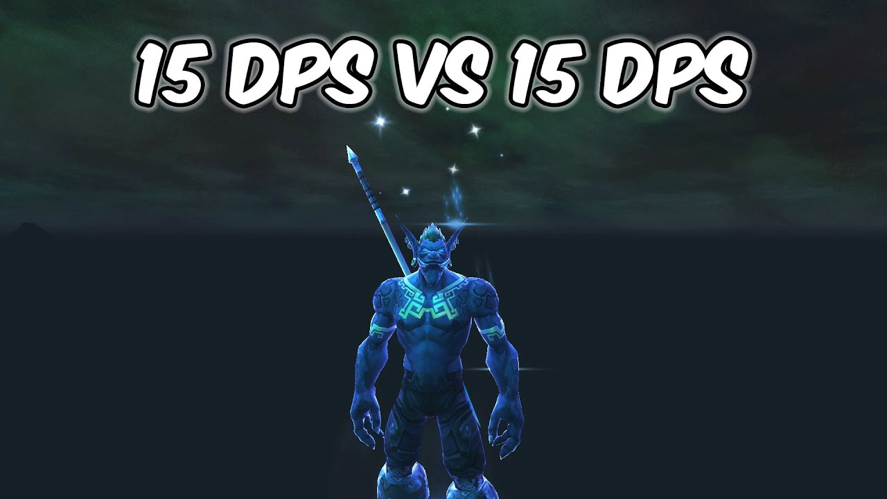 15 DPS VS 15 DPS - Balance Druid PvP - WoW Shadowlands Prepatch
