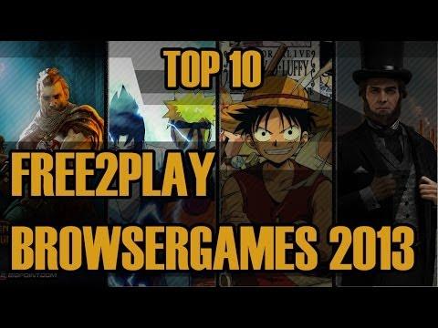 ▼ Top 10 Free2Play Browsergames 2013 / 2014 ▼ Alles Kostenlose Für Euren Browser   Facecam   HD