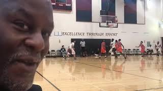 Team L.A.B. vs Airpack Sonics -Marvin Guthrie Coach Dayal