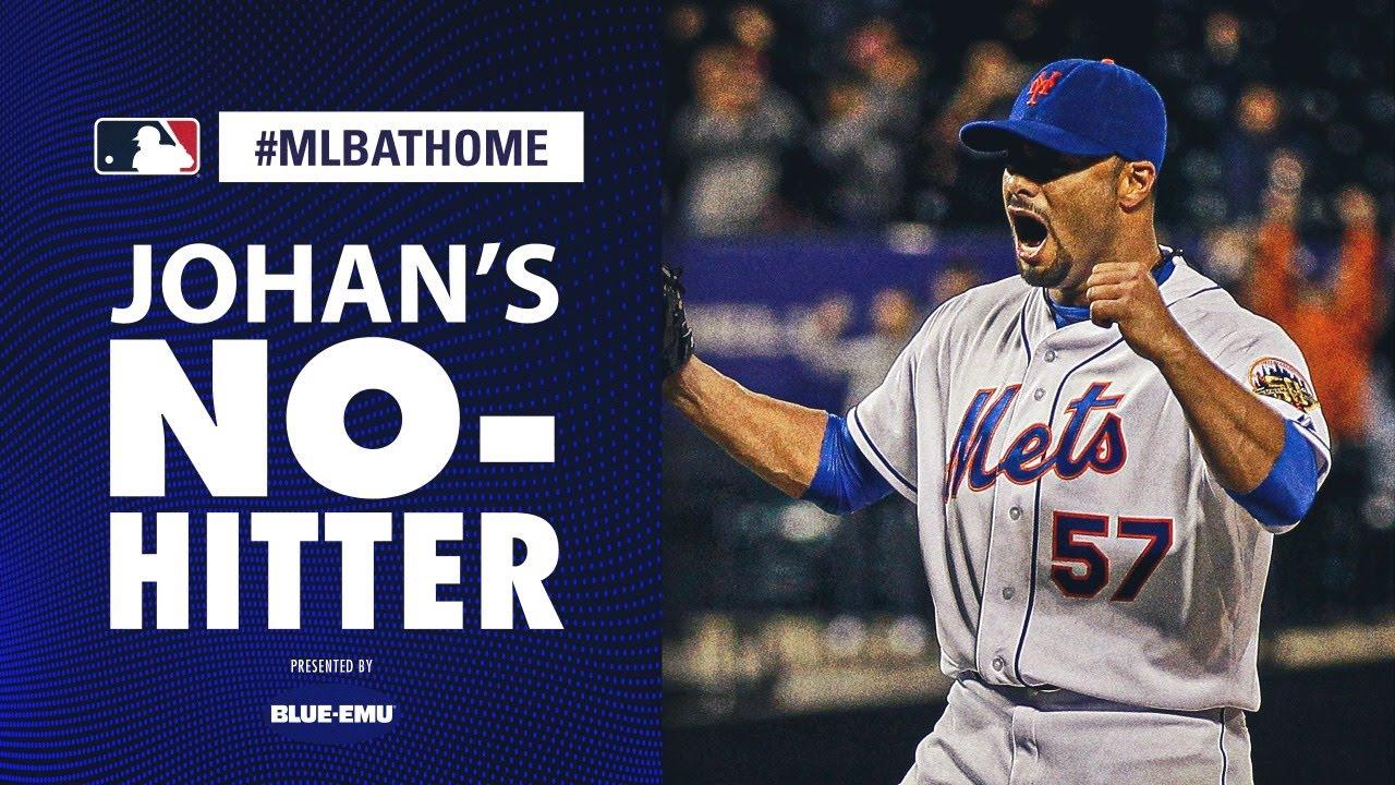 Johan Santana's No-Hitter (Cardinals vs. Mets, 6/1/2012) | #MLBAtHome