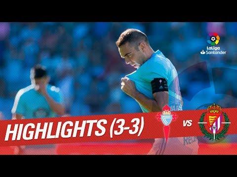 Resumen de RC Celta vs Real Valladolid (3-3)