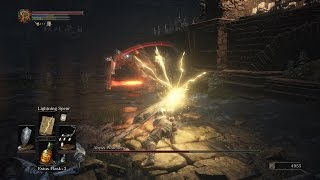 Скачать Dark Souls 3 Cleric Class Boss Fight 6 Abyss Watchers SL 20