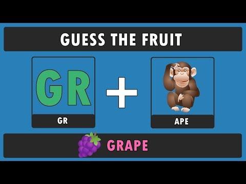9/10 Fails To Guess The Fruits By Emoji !! Fun Emoji Challenge